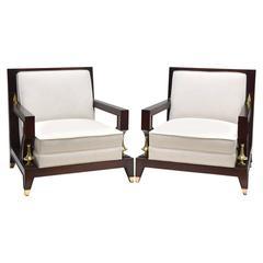 Octavio Vidales Club Chairs, circa 1950