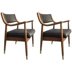 Pair of Armchairs After Edward Wormley