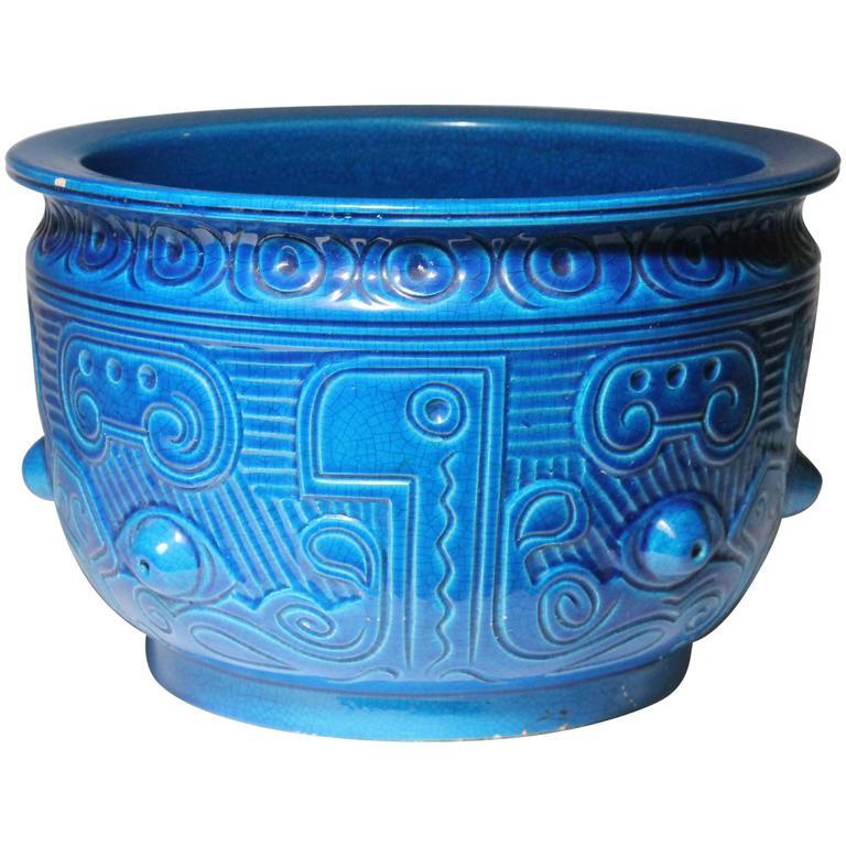 Deco Style Ceramic Pottery Architectural Italian