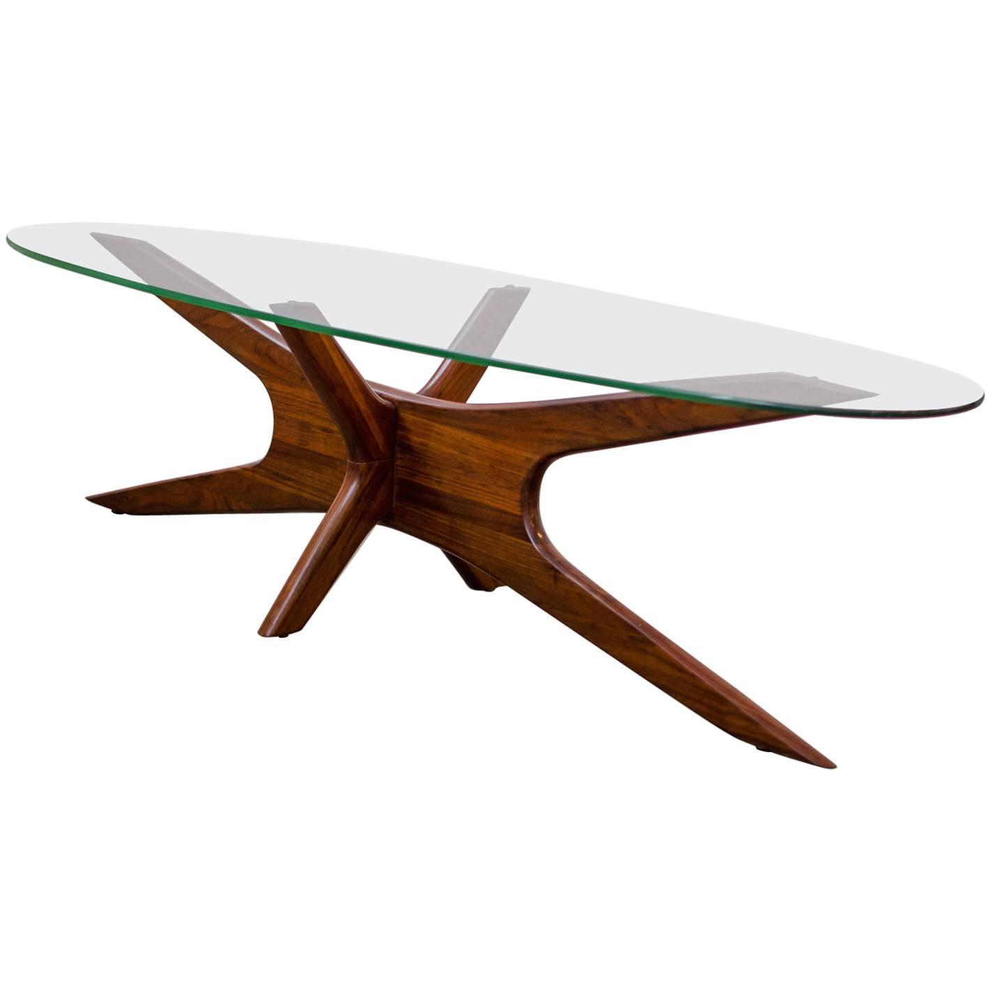 Adrian Pearsall Jacks Coffee Table 1960s at 1stdibs