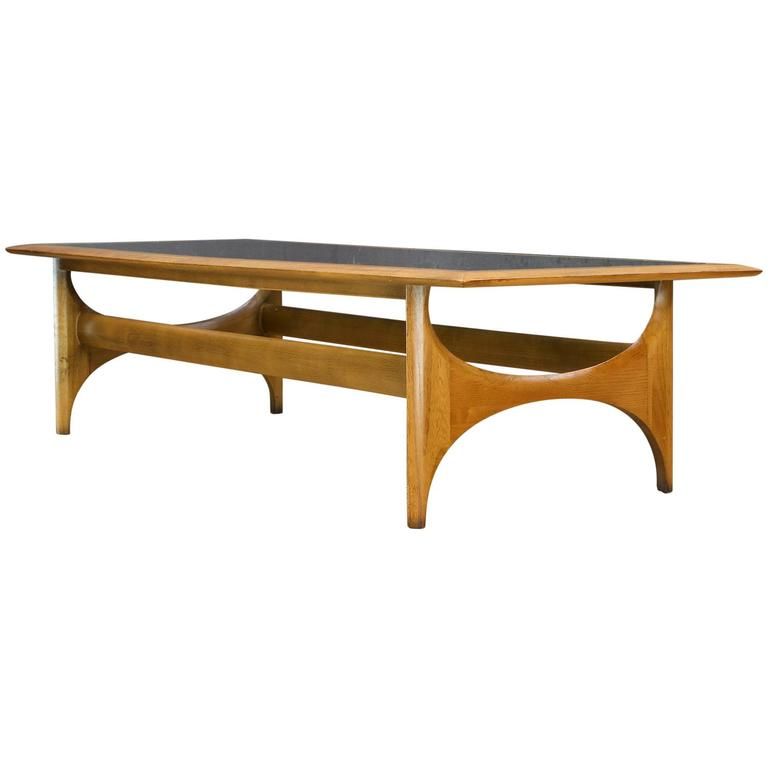 1960s Pearsall Attributed Atomic Walnut Coffee Table At 1stdibs