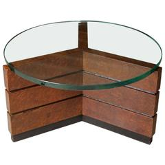 Pierluigi Colli Circular Coffee Table, Italian, 1930s