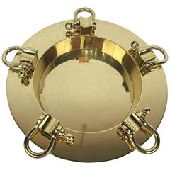 Handsome Brass Catchall or Ashtray