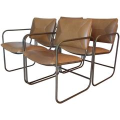 Kipp Stewart Occasional Bronze Chairs for Terra California Design