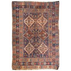 Exceptional 19th Century Ghashgaei Rug