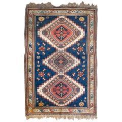 Unique Mid-20th Century Kazak Rug