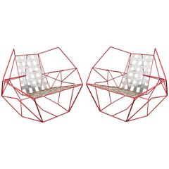 Sebastien Baldini Faceted Iron Chair