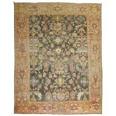 Antique Persian Sultanabad Mahal Carpet