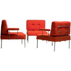 Poul Cadovius Steel Frame 'Revolt' Sectional Sofa for France & Son