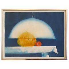 Julio Larraz Aquatint 'the Protector'