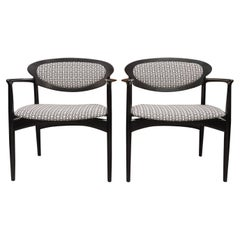 Pair of Danish Armchairs for Selig