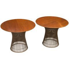 Warren Platner for Knoll Tables