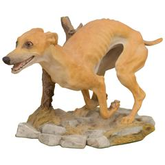 British Figure of a Dog