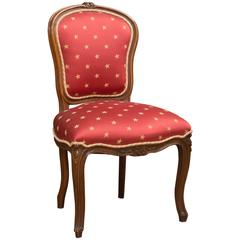"Louis XV Style ""Star"" Side Chair"