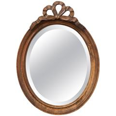 Provincial Style Oval Mirror