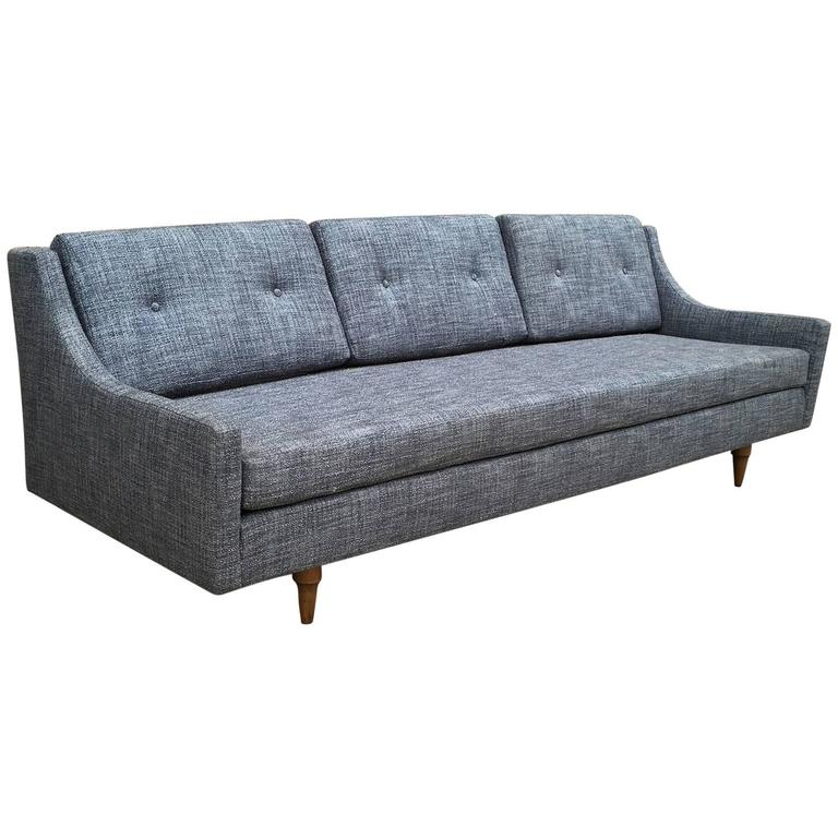 Danish Modern Upholstered Sofa by Selig