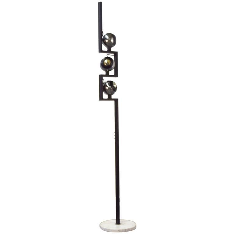 Italian Floor Lamp by Angelo Lelli for Arredoluce