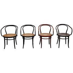 Set of Four Thonet Armchairs by Auguste Thonet for Thonet