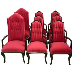 Eight Dining Chairs by Maurice Bailey for Monteverdi Young