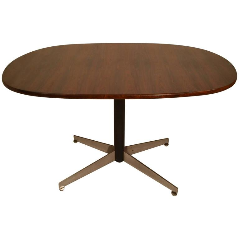 Rosewood Dining Table By Robin Day For Hille At 1stdibs