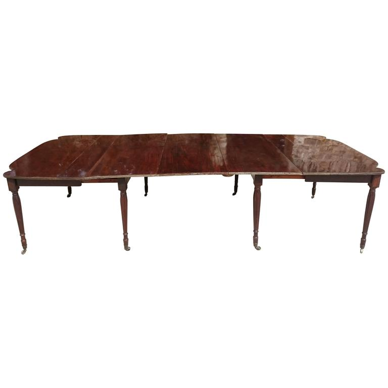 19th Century Regency Mahogany Dining Table with Brass  : 5279963l from www.1stdibs.com size 768 x 768 jpeg 16kB
