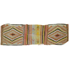 Bag Face Kilim Textile Rug Hanging