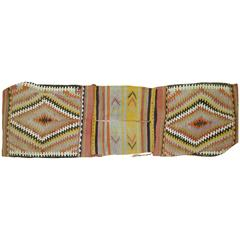 Bag Face Kilim Textile Rug Hanging