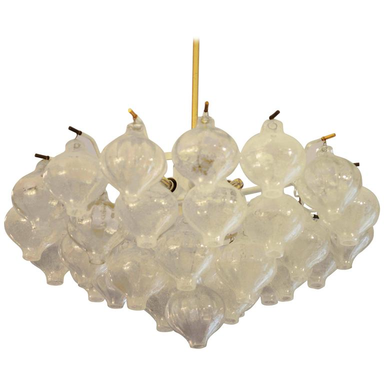 Beautiful Large Kalmar Tulipan Chandelier