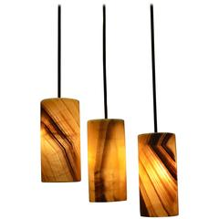 Hanging Onyx Lamps