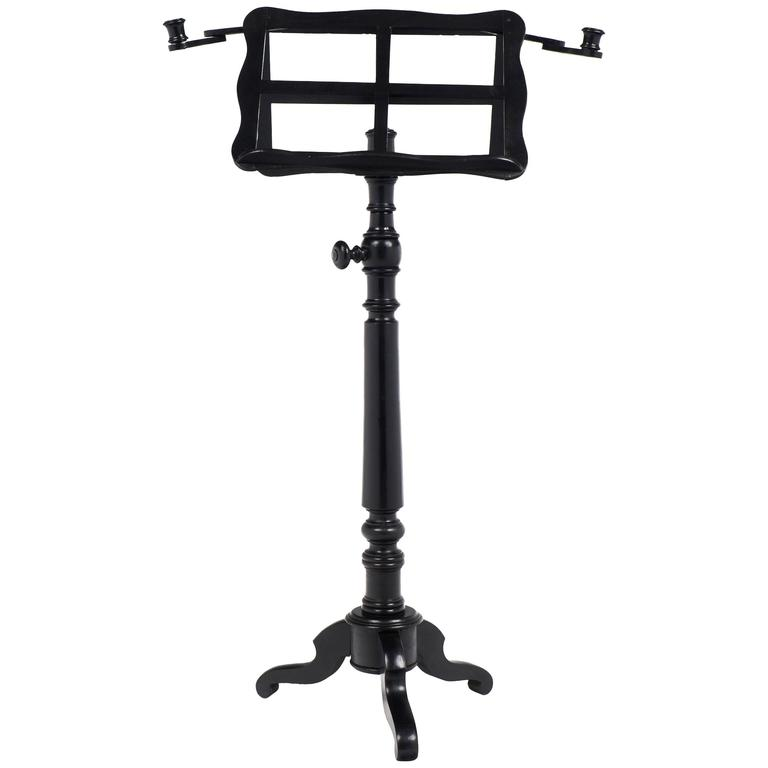 french antique louis philippe music stand lectern for sale at 1stdibs. Black Bedroom Furniture Sets. Home Design Ideas