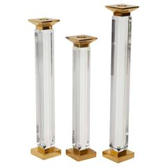 Charles Hollis Jones Candleholders