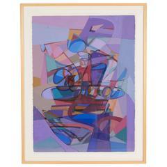 Gouache on Paper by Carlo Marangio