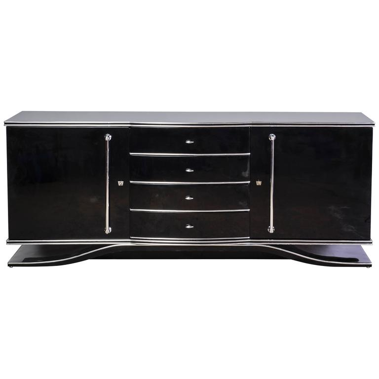 Impressive Extra Large Art Deco Sideboard/ Buffet/ Chest