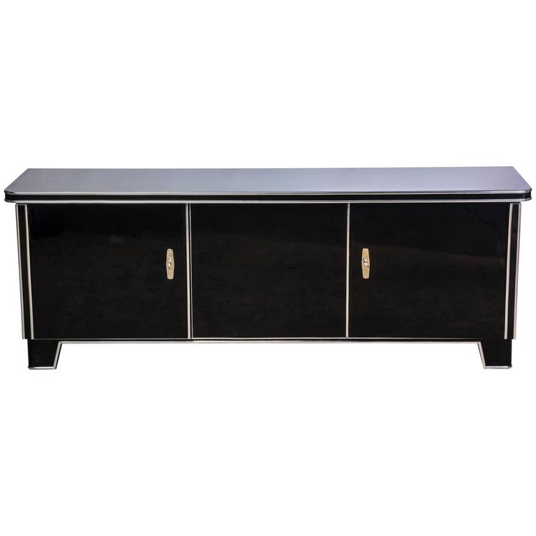Magnificent Art Deco Low Board or Sideboard