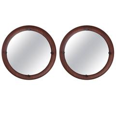 Mahogany Mirrors from Italy