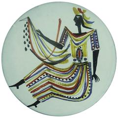 Ceramic Plate by Roger Capron