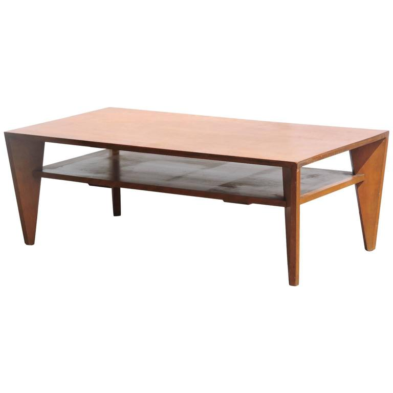 American Modern Coffee Table By Russel Wright For Conant Ball 1