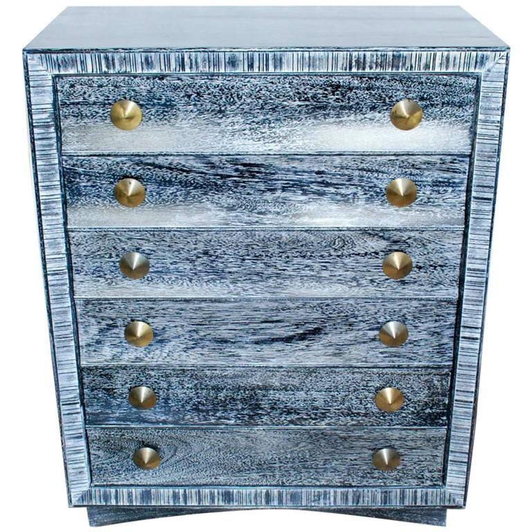 Paul Frankl for Brown Saltman Cerused Dresser