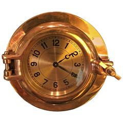 Hermes Porthole Clock by Jaeger-LeCoultre