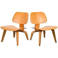 Eames LCW Lounge Chairs for Herman Miller