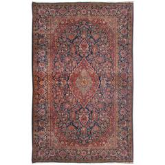 Outstanding Early 20th Century Kashan Rug