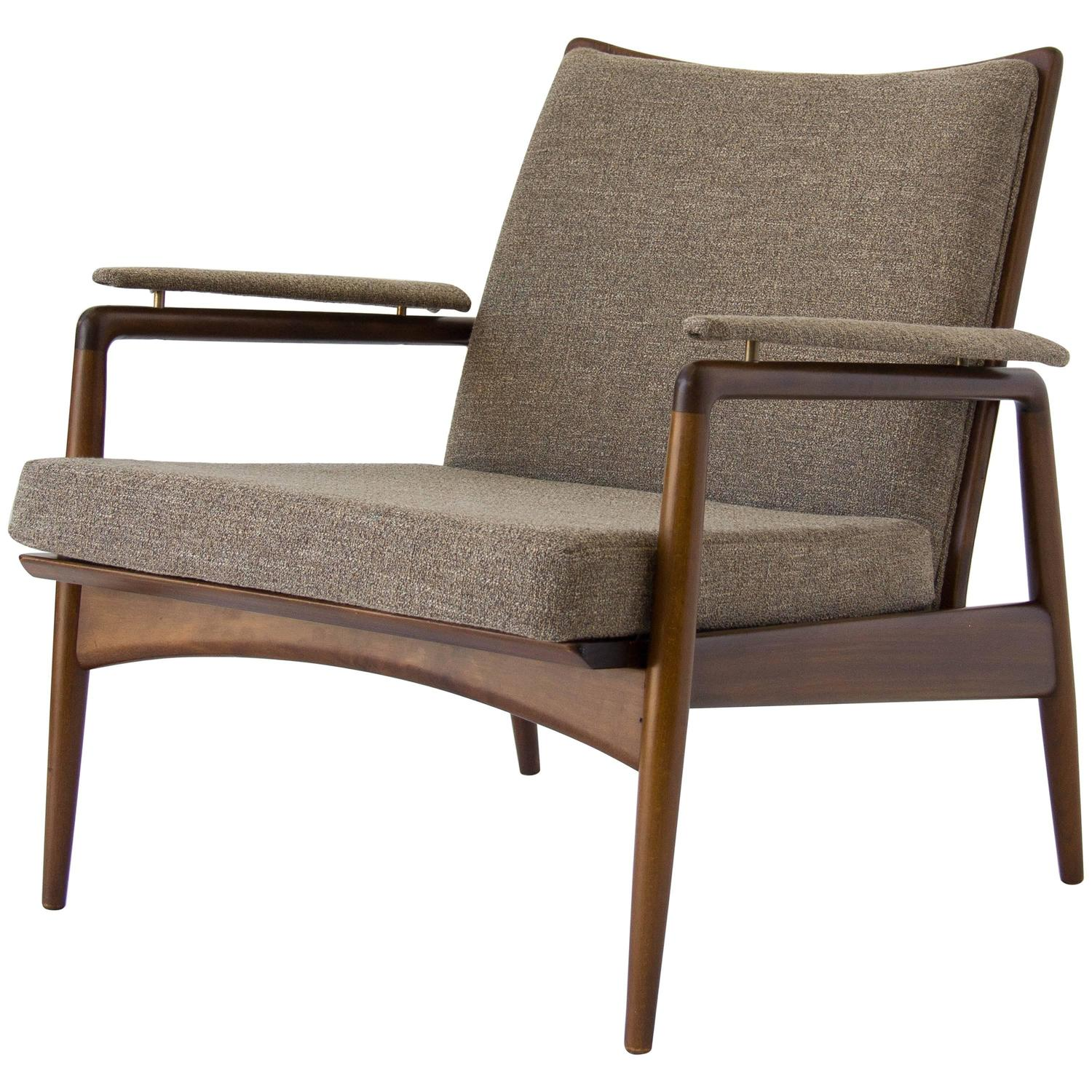 ... Selig Z Chair Straps By Danish Modern Lounge Chair Imported By Selig  For Sale At ...