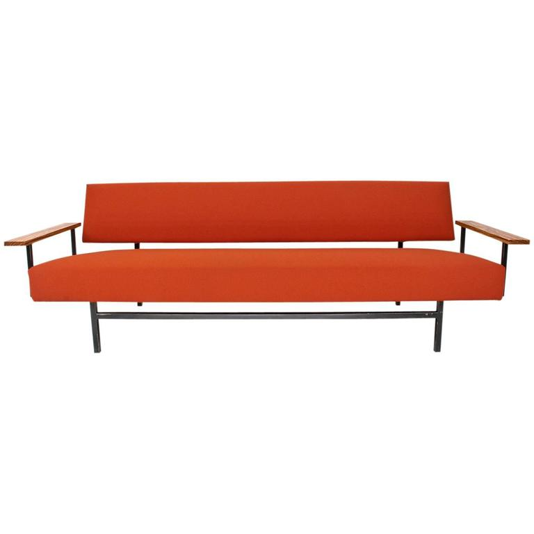 1960s dutch mid century sofa or daybed by robert parry for Mid century daybed sofa