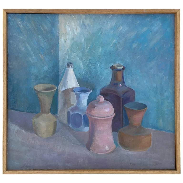 Original Oil Still Life by Accomplished Artist, Katya Kompaneyets