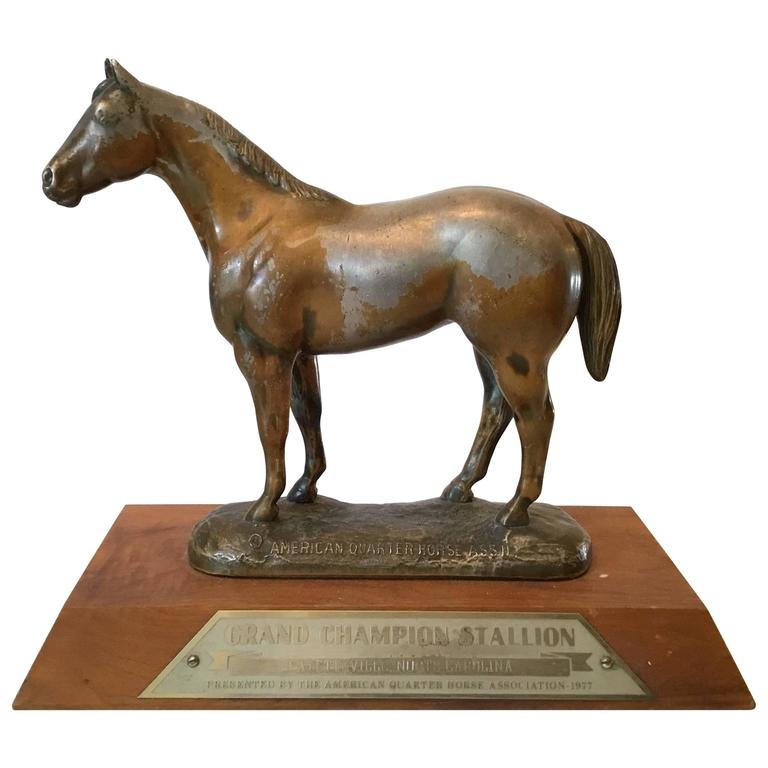 Magnificent Lead Horse Statue