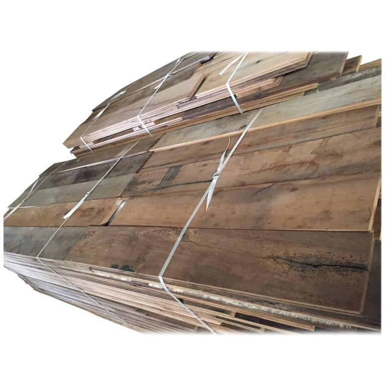 French Reclaimed Wood Oak Floors 17th-19th Century, France