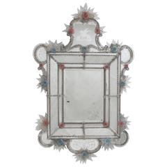 Large 19th Century Italian Venetian Mirror