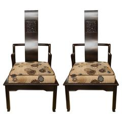 John Widdicomb Pair of Chinese Mid-Century Style Chairs