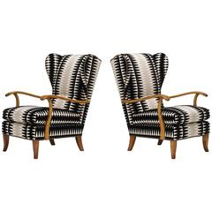 Armchairs by Paolo Buffa