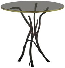 Bill Sofield Twig Occasional Side Table by Baker